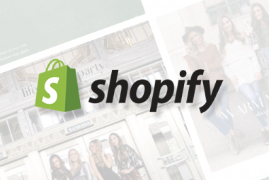 Hyperspace Banner for Shopify Integration with Lightspeed Retail