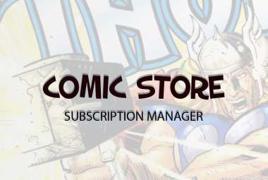 Diamond Comics Point of sale, Comic store Point of Sale